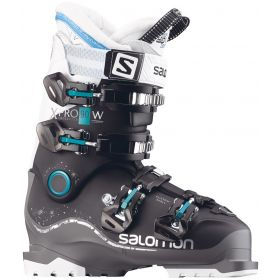 Salomon XPro 90 W  Ski Boots in Black / Anthracite / White (24.5)