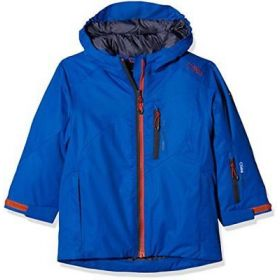 CMP Campagnolo Kids / Boys Fix Hood Ski Jacket in Royal Blue (14 Years)