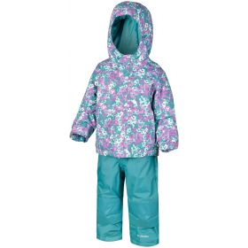 Columbia Buga Set Ski Two Piece in Blue Floral (3 Years)