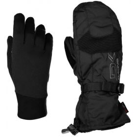 Dakine Scout Mens Ski Mittens & Inner in Black (Medium)