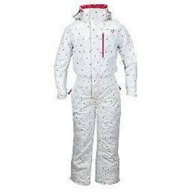 Dare2b Monster Ski One Piece in White Polka (4 Years)