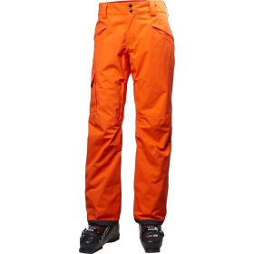 Helly Hansen Sogn Mens Ski Trousers / Salopettes in Flame Orange (Extra Large)