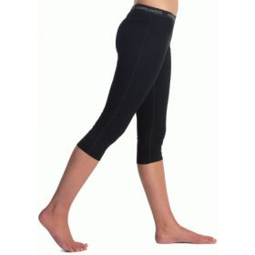 Icebreaker Womens Oasis Legless Bottoms Base Layer in Black (Ladies 12)