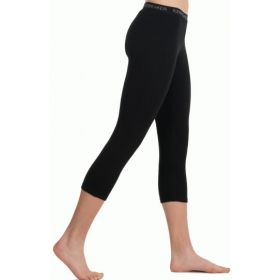 Icebreaker Womens Vertex Leggings Base Layer in Black (Ladies 16)