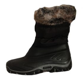 Mammal Fur Fossa Apres Boots in Black (35 / 36)