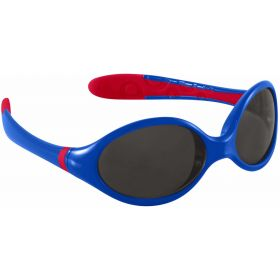 Manbi / Park Peak Piste Flexi Kids Sunglasses in Blue Red