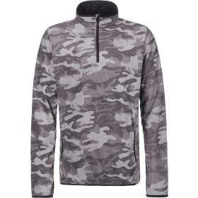 Quicksilver Aker Half Zip Fleece in Grey (Large)
