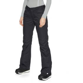 Roxy Backyard Womens Ski Trousers / Salopettes in Black (Ladies 14 / Large)