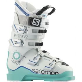 Salomon XMax 90 W Ski Boots in Soft Green / White (24.5)