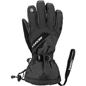 Scott Mens Ultimate Hybrid Ski Gloves in Black (Large)