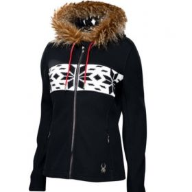 Spyder Soiree Ski Jumper in Black (Ladies 16)