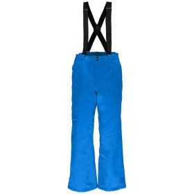 Spyder Troublemaker Tailored Ski Trousers / Salopettes in Blue (Large)