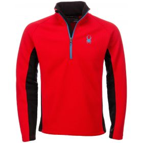 Spyder Outbound Stryke Ski Jumper in Red / Black (Large)