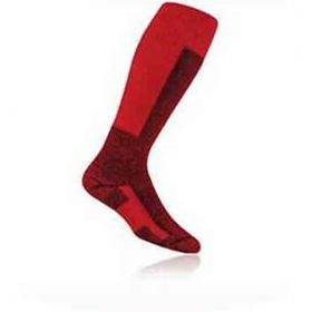 Thorlos Performance Fit Ski Socks in Fire Red / Black (UK 8.5 - 12.0)