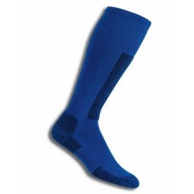 Thorlos Womens / Mens Performance Fit Ski Socks in Laser Blue / Black (Extra Large)