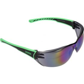 Uvex Sportstyle 204 Sunglasses in Black Green