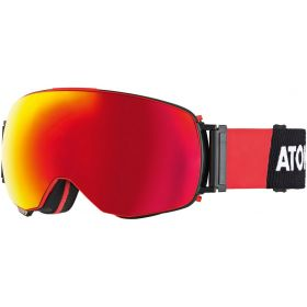 Atomic Revent Q Ski/Snowboard Goggles in Black Red