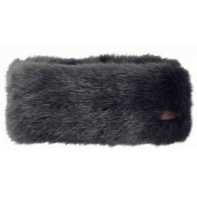 Barts Faux Fur Headband in Grey