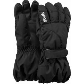 Barts Kids / Girls / Boys Tec Ski Gloves / Mittens in Black (6-8 Years / Size 4)