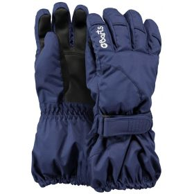 Barts Kids / Girls / Boys Tec Ski Gloves / Mittens in Navy (6-8 Years / Size 4)