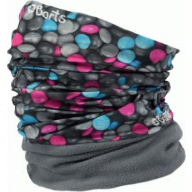Barts Multicol Polar Snoods / Scarfs / Neckwarmers in Candy Mass Grey (Adult)