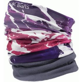 Barts Multicol Polar Snoods / Scarfs / Neckwarmers in Water Fuchsia (Adult)