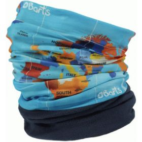 Barts Multicol Polar Snoods / Scarfs / Neckwarmers in World Blue (Adult)