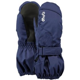 Barts Kids / Girls / Boys Tec Ski Gloves / Mittens in Navy (10-12 Years / Size 6)
