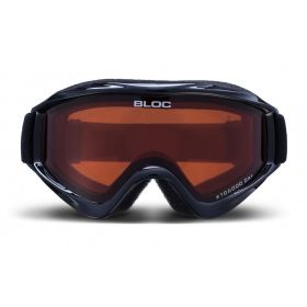 Bloc Spark Junior Rk4N Ski Goggles in Black