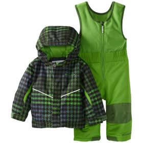 Columbia Buga Set Ski Two Piece in Green (2 Years)