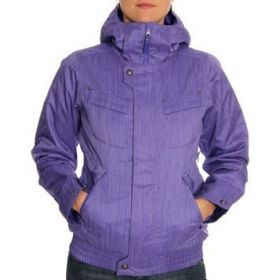 Burton Womens Tabloid Ski Jacket in Purple