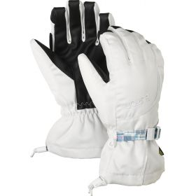 Burton Pele Ski Gloves / Mittens in Stout White (Large)
