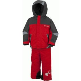 Columbia Kids / Girls / Boys Boys Buga Two Piece in Red (12 Months)