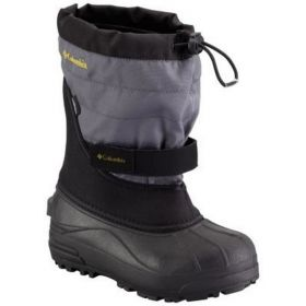 Columbia Powderbug plus 2 Snow Boots in Black / Intense gold (33.5)