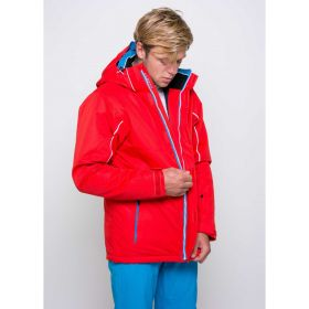 Dare2b Mens Formulate Ski Jacket in Red (Small)