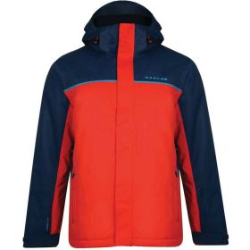 Dare2b Mens Steady Out Ski Jacket in Blue Red (Small)