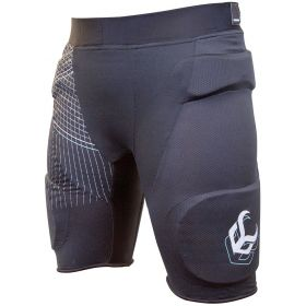 Demon Womens Flex Force Padded Shorts Base Layer in Black RRP £85.00