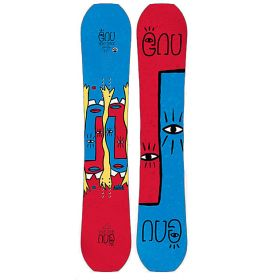 GNU Mervyn Headspace Snowboard in Mixed Colours (155 cm)