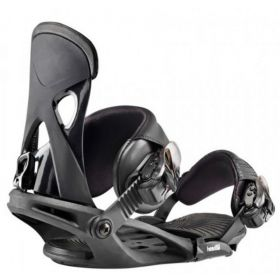 Head NX Fay 1 Womens Snowboard Bindings in Black (Small)