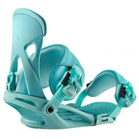 Head NX Fay 1 Snowboard Bindings in Turquoise (Medium)