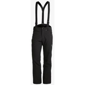 Icepeak Mens Noxos Ski Trousers / Salopettes in Black (Long Extra Large)