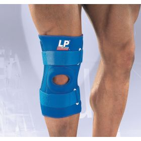 LP Support Womens / Mens Hinged Knee Stablizier Support in Blue (Small)