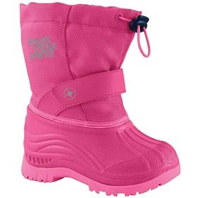 Manbi Explore Apres Boots in Pink / Silver (31 / 32)