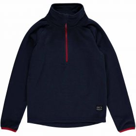O'Neill Ventilator Half Zip Fleece in Ink Blue (Small)