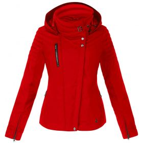 Poivre Blanc Womens Perfect Ski Jacket in Fire Red (Ladies Size 18)