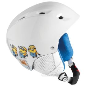 Rossignol Despicable Me Helmet in White (52-54 Cm)