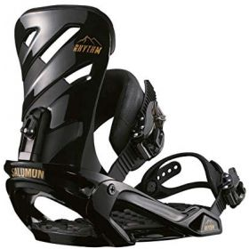 Salomon Rhythm Snowboard Bindings in Black (Medium)