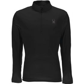 Spyder Limitless 1/4 Zip Dry Web T Neck in Black (Medium)