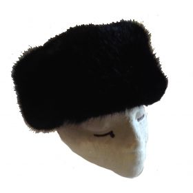 Thaw Fur Hat Hat / Beanie in Black