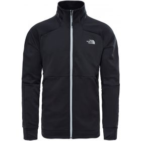 The North Face Croda Rossa Full Zip Fleece Ski Jumper in Black (Extra Large)